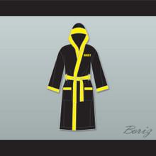 Rocky Balboa Italian Stallion Satin Full Boxing Robe with Hood