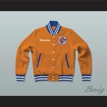 Bobby Boucher Waterboy SCLSU Mud Dogs Letterman Jacket-Style Sweatshirt