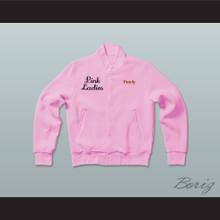 Grease Frenchy Pink Ladies Letterman Jacket-Style Sweatshirt