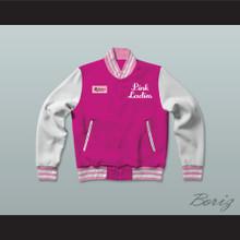 Betty Rizzo Pink Ladies Letterman Jacket-Style Sweatshirt