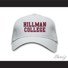 Hillman College White Baseball Hat A Different World