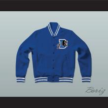 Bull Durham Baseball Letterman Jacket-Style Sweatshirt