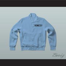Havoc 95 Hennessy Queens Bridge Blue Varsity Letterman Jacket-Style Sweatshirt