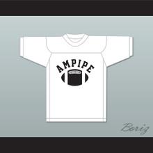 Ampipe High School Bulldogs White Practice Football Jersey