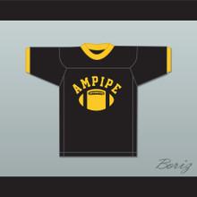 Ampipe High School Bulldogs Black Practice Football Jersey