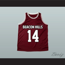 Isaac Lahey 14 Beacon Hills Basketball Jersey Teen Wolf
