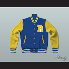 Archie Andrews Riverdale High School Varsity Letterman Jacket-Style Sweatshirt