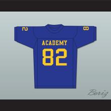 Terry Crews 82 Flint Southwestern Academy Knights Blue Football Jersey