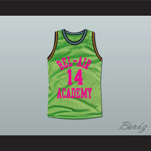 The Fresh Prince of Bel-Air Will Smith Bel-Air Academy Neon Green Basketball Jersey