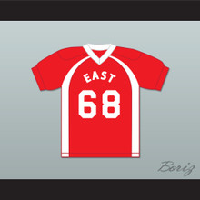 East/West College Bowl D'Marcus Williums 68 East Football Jersey Key & Peele
