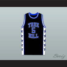 Lucas Scott One Tree Hill Ravens Black Basketball Jersey Any Number or Player