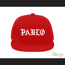 Pablo Escobar Red Baseball Hat