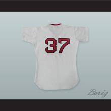 Bill Lee 37 Pro Career White Baseball Jersey Spaceman