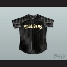 Bruno Mars 24K Hooligans Black Pinstriped Baseball Jersey BET Awards