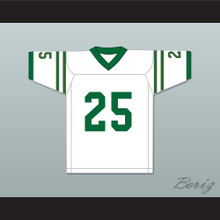 Anthony Mackie Nate Ruffin 25 Marshall University White Football Jersey We Are Marshall
