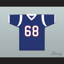 Peter Griffin 68 Blue Football Jersey Family Guy