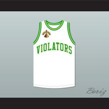 Alonzo Mourning 33 Violators Basketball Jersey 5th Annual Rock N' Jock B-Ball Jam 1995