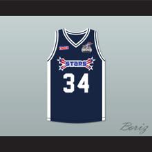 Paul Pierce 34 Stars Basketball Jersey Rock N' Jock All Star Jam 2002
