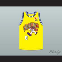 Bill Bellamy 8 Violators Basketball Jersey 7th Annual Rock N' Jock B-Ball Jam 1997