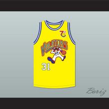 Brent Barry 31 Violators Basketball Jersey 7th Annual Rock N' Jock B-Ball Jam 1997