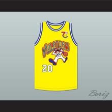 Gary Payton 20 Violators Basketball Jersey 7th Annual Rock N' Jock B-Ball Jam 1997