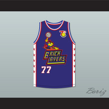 Elisa Donovan 77 Bricklayers Basketball Jersey 7th Annual Rock N' Jock B-Ball Jam 1997