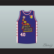 Coolio 40 Bricklayers Basketball Jersey 7th Annual Rock N' Jock B-Ball Jam 1997