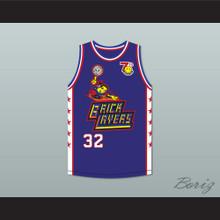 Chris Spencer 32 Bricklayers Basketball Jersey 7th Annual Rock N' Jock B-Ball Jam 1997