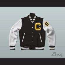 Coldwater Black Bears High School Varsity Letterman Jacket-Style Sweatshirt  Touchback