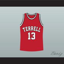 Eric Bishop Jamie Foxx Terrell Tigers 13 High School Basketball Jersey