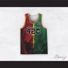 Bob Marley 33 420 Buffalo Soldier Lion Style Basketball Jersey