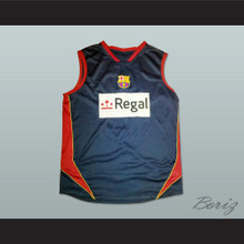 Gianluca Basile Regal Barcelona Basketball Jersey Stitch Sewn