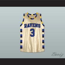 Lucas Scott One Tree Hill Ravens Gold Basketball Jersey