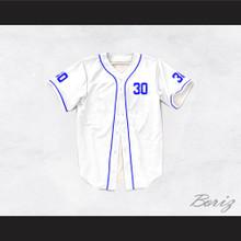 Benny 'The Jet' Rodriguez 30 White Dye Sub Baseball Jersey