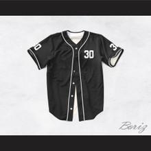 Benny 'The Jet' Rodriguez 30 Black Dye Sub Baseball Jersey
