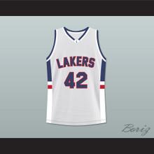 Kevin Love Lake Oswego Lakers High School Basketball Jersey White Stitch Sewn