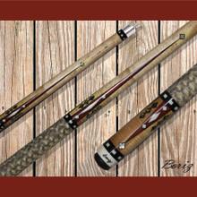 Boriz Billiards Pool Cue Stick Classic Style Serpent Skin AB 107