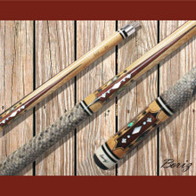 Boriz Billiards Pool Cue Stick Classic Style Serpent Skin AB 222