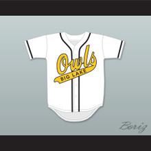 Jimmy Morris 7 Big Lake Owls Home Baseball Jersey The Rookie