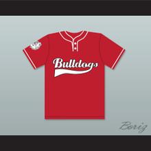 Player 10 Bulldogs Baseball Jersey Home Run