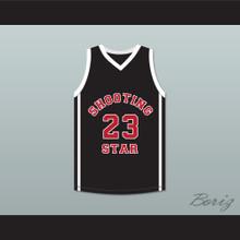 Lebron James 23 Ohio Shooting Stars AAU Black Basketball Jersey More Than A Game