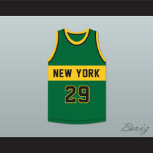Spencer Haywood 29 New York Basketball Jersey The Fish That Saved Pittsburgh