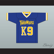 Air Bud K9 Fernfield Timberwolves Football Jersey