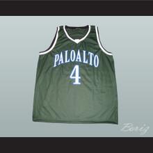 Jeremy Lin Palo Alto Vikings High School Basketball Jersey Green