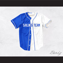 Lil Yachty Lil Boat 44 Sailing Team Blue/White Dye Sublimation Baseball Jersey