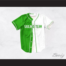 Lil Yachty Lil Boat 44 Sailing Team Green/White Dye Sublimation Baseball Jersey