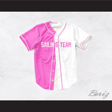 Lil Yachty Lil Boat 44 Sailing Team Pink/White Dye Sublimation Baseball Jersey