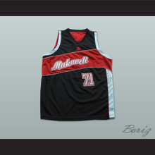 Tupac Shakur 71 Makaveli Basketball Jersey Stitch Sewn Any Player or Number