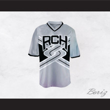 Rancho Carne High School Toros Male Cheerleader Gray Uniform