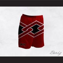 Rancho Carne High School Toros Male Cheerleader Red Uniform Shorts
